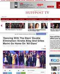 Which All Stars Went Home In The DWTS: Huffington Post